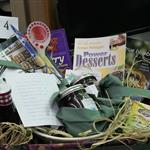 Blueberries Book Basket